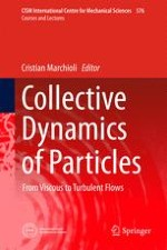 Modeling and Simulation of Discrete Particles in Fluid Flow
