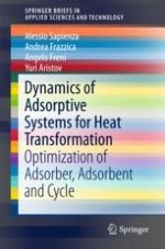 Adsorptive Heat Transformation and Storage: Thermodynamic and Kinetic Aspects