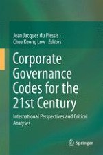 Corporate Governance Codes Under the Spotlight