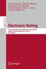 Preventing Coercion in E-Voting: Be Open and Commit