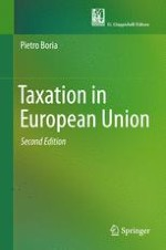 The Tax Power in the Tradition of the European Legal Systems