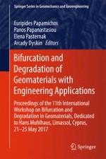 Localisation Precursors in Geomaterials?