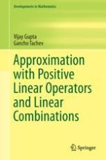 Moments and Combinations of Positive Linear Operators