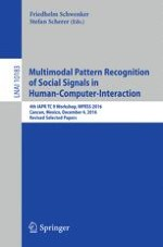 Multimodal Pattern Recognition of Social Signals in Human-Computer
