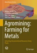 The Long Road to Developing Agromining/Phytomining