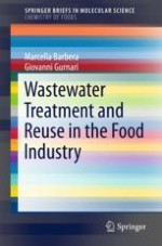 Water Reuse in the Food Industry: Quality of Original Wastewater Before Treatments
