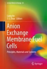 Water and Ion Transport in Anion Exchange Membrane Fuel Cells