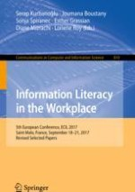 Workplace Information Literacy: Co-designed Information Experience-Centered Systems and Practices