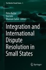 Small States and Integration: An Introduction