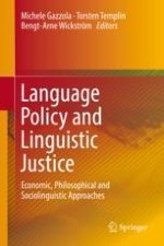 An Economics Approach to Language Policy and Linguistic Justice
