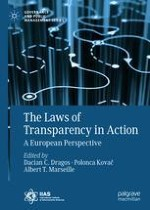 From the Editors: The Story of a Data-Driven Comparative Legal Research Project on FOIA Implementation in Europe