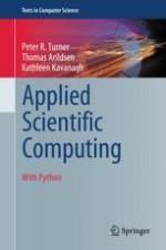 Applied Scientific Computing | springerprofessional de