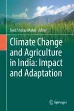 Future Changes in Rainfall and Temperature Under Emission Scenarios over India for Rice and Wheat Production