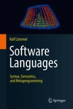 The Notion of a Software Language