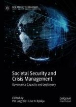 Organizing for Societal Security and Crisis Management: Governance Capacity and Legitimacy