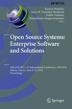How Can Open Source Software Projects Be Compared with Organizations?