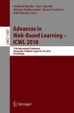 Advances in Web-Based Learning – ICWL 2018