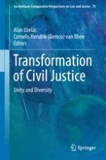 The Metamorphoses of Civil Justice and Civil Procedure: The Challenges of New Paradigms—Unity and Diversity