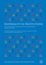 Introduction: How Can Materiality Inform Institutional Analysis?