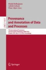 Provenance Annotation and Analysis to Support Process Re-computation