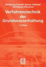 Technische Grundlagen zur Planung, Ausführung und Überwachung von Wasserhaltungen und -absperrungen im Erd- und Grundbau