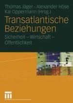 Die Entwicklung der transatlantischen Beziehungen unter den Bedingungen machtpolitischer Asymmetrie und kultureller Differenz