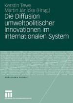 Einleitung: Zur Untersuchung der Diffusion umweltpolitischer Innovationen