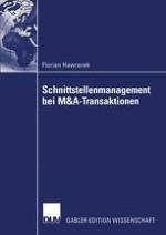 Problemstellung: Das Management von Schnittstellen bei M&A-Transaktionen