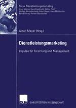 Der Marketingerfolg neu gegründeter Dienstleistungsbetriebe — Konzeptionelle Überlegungen und empirische Befunde