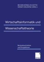 Theoriebildung in der Wirtschaftsinformatik