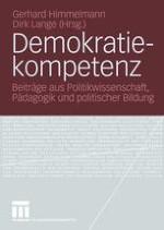 Einleitung Innovationen in Theorie, Politik, Pädagogik und Didaktik der Demokratie