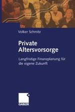 Warum private Altersvorsorge?