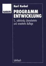 Algorithmen, Daten und Programme