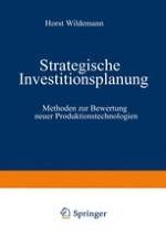 Produkt-/Markt-/Technologie- Kombinationen als Ausgangspunkt der strategischen Investitionsplanung