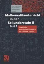 Beziehungsnetze, fundamentale Ideen und historische Entwicklung der Analytischen Geometrie und Linearen Algebra
