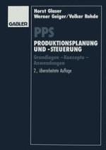 Gegenstand der Produktionsplanung und -steuerung