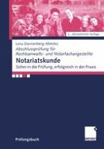 Aufgaben und Amtspflichten des Notars