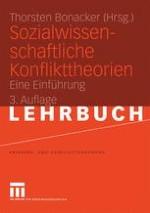 Sozialwissenschaftliche Konflikttheorien — Einleitung und Überblick