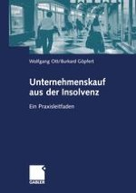 Die Ausgangslage für den Kauf von Unternehmen in der Insolvenz