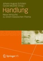 """Soziologie und die """"Theorie des Handelns""""*"""