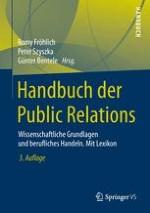 Einführung: Forschungsfeld Public Relations