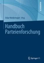Parteienforschung im Rahmen der Sozialwissenschaften