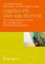 Litigation-PR in der Diskussion:Potenziale der strategischen Rechtskommunikation