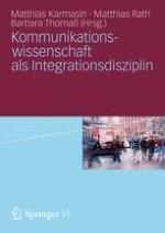 Kommunikationswissenschaft integrativ ?