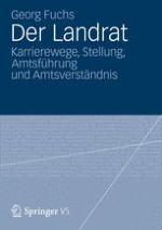 Einleitung: Der Landrat – Herrgott, König und Feudalherr?