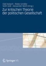 Michael Th. Greven und die kritische Theorie der politischen Gesellschaft. Einige einleitende Bemerkungen