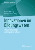 Innovation als Thema und Theoriebaustein der Educational Governance Forschung – Zur Einführung in den Herausgeberband