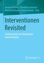 Interventionen als Instrument der internationalen Politik: Entwicklung, Anspruch, Wirklichkeit