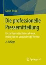 Textsorten Für Pressemitteilungen Springerprofessionalde