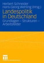 Landespolitik und Länderpolitik im föderalistischen System Deutschlands — zur Einführung
